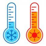 آیکون سرما و گرما